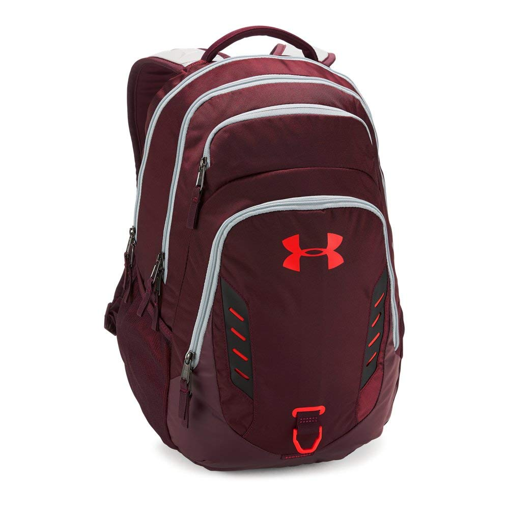 Under Armour Gameday Backpack, Dark Maroon (600)/Radio Red, One Size by Under Armour