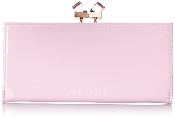 1ee457cf070b4f TED BAKER LONDON TRONTO CRYSTAL POPPER DUSKY PINK MATINEE PURSE CLUTCH   Amazon.co.uk  Clothing