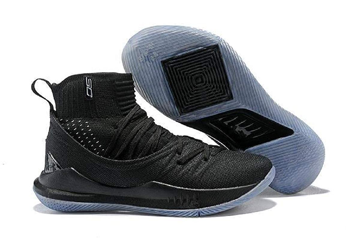 Esquivo ballena azul Excéntrico  Buy UnderArmour UA Curry 5 Black Men's Basketball Shoes (10 UK) at Amazon.in