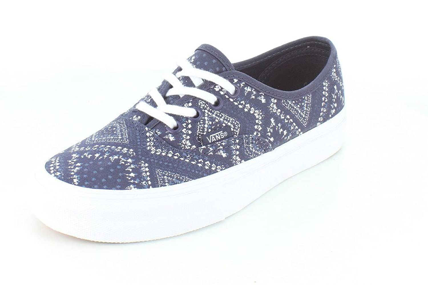 vans authentique des des authentique femmes toe toile bleu de baskets services durables e9fe6e