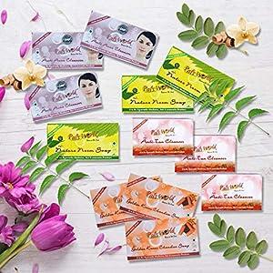 Pal's World 3 Anti Acne Soap, 3 Golden Kesar Soap, 3 Neem Soap, 3 Anti Tan Soap – Skin Glowing Combo Perfect Herbal…