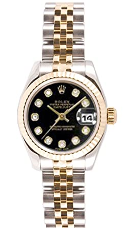 Amazon Com Rolex Oyster Perpetual Lady Datejust Watch Watches