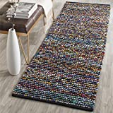 Safavieh Cape Cod Collection CAP367A Hand Woven Multicolored Jute Runner (2'3'' x 6')