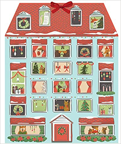 Forest Friends Christmas House Calendar (Advent Calendar) de Amazon