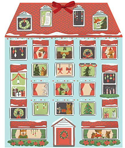 Forest Friends Christmas House Advent Calendar