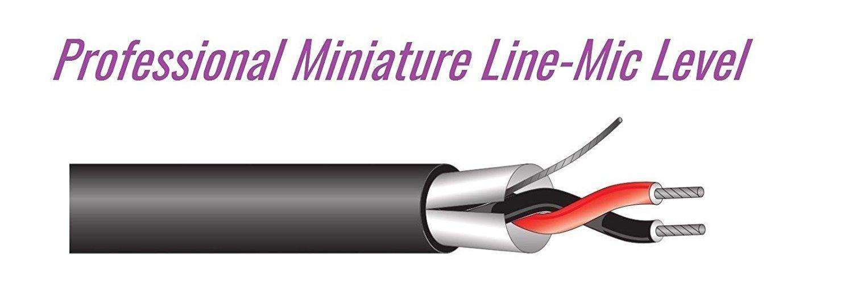 West Penn Wire (454 22 Gauge) CMR Installation Mic/Line Bulk Cable - 100Ft