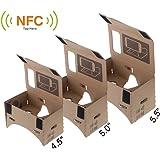 """Andoer DIY Google Carton réalité virtuelle VR Mobile lunettes 3D avec NFC Tag pour 5.0""""écran"""