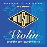 Rotosound Jeu de cordes pour violon Argent