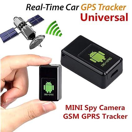 Behavetw - Mini rastreador GPS, localizador de Alarma GPS antirrobo ...