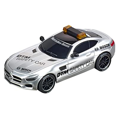 Carrera 64134 Mercedes-AMG GT DTM Safety Car GO!!! Analog Slot Car Racing Vehicle 1:43 Scale: Toys & Games
