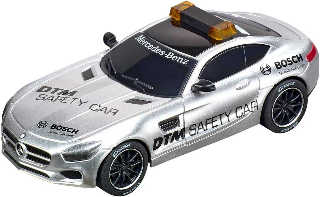 Carrera 64134 Mercedes-AMG GT DTM Safety Car GO!! Analog Slot Car Racing Vehicle 1:43 Scale