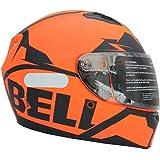 Capacete Bell Qualifier - 60, Snow Orange Black