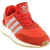 8259c7014a66b Amazon.com | Adidas Womens INIKI RUNNER W WHT/TACGRN/GUM3 LACE UP 10 ...