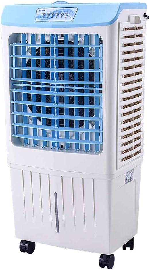 Air Cooler Aire Acondicionado Industrial Ventilador de Agua Refrigeración por Agua Casa Comercial Aire Acondicionado pequeño - Modos de Funcionamiento: Normal, Nocturno y humidificador Natural: Amazon.es: Hogar