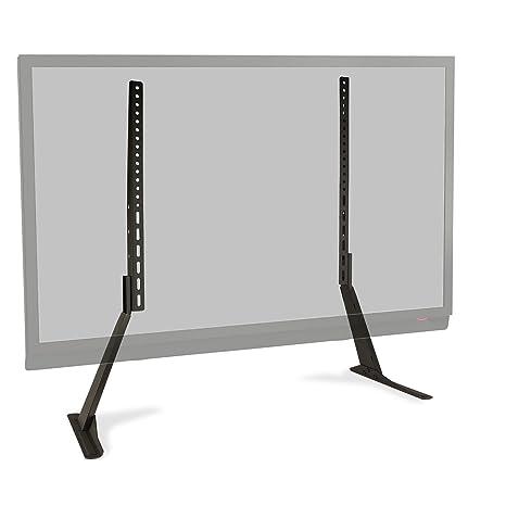 Amazon Com Atlantic Table Top Tv Stand Universal Adjustable Heavy