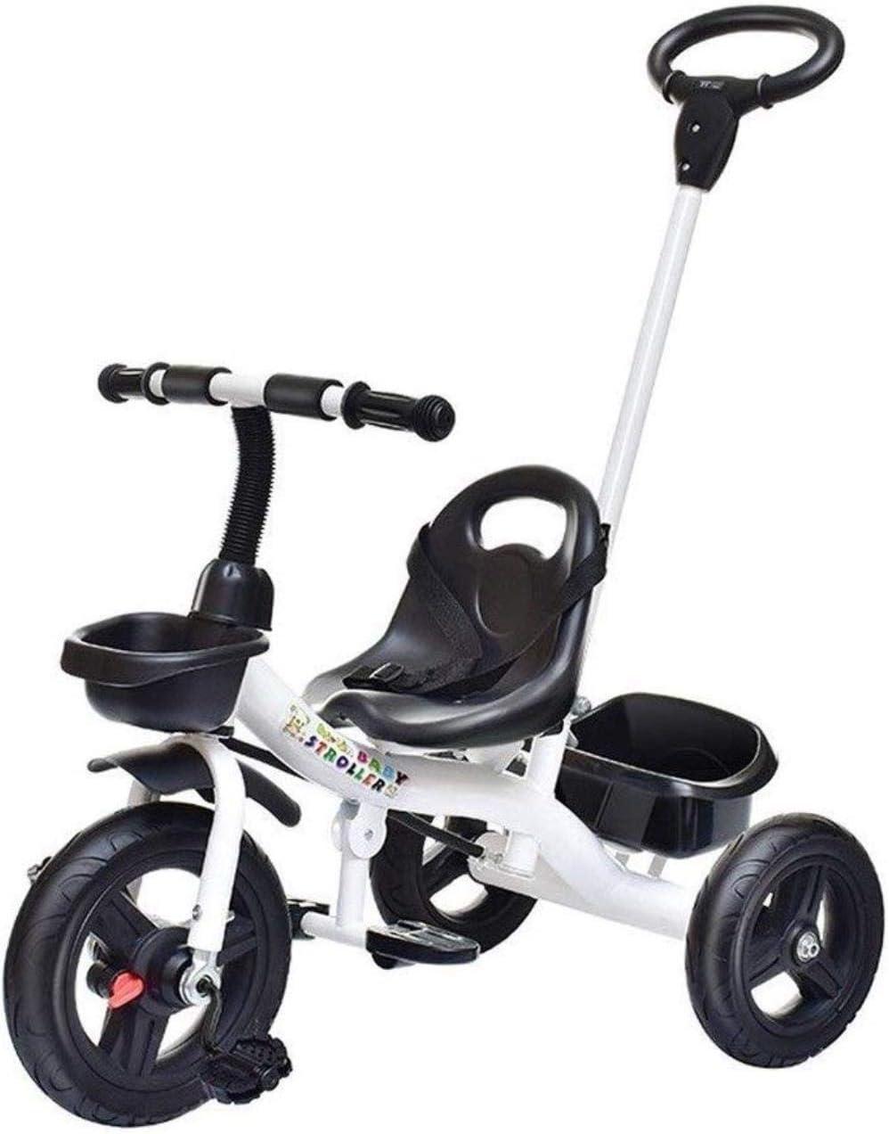 Archivadores Bicicletas del caballo de oscilación triciclos for niños pequeños triciclos infantiles del niño Bici niño 2-en-1 de empuje y paseo cochecito de bebé al aire libre de la bicicleta del tric