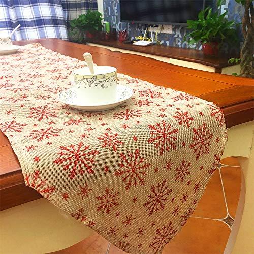 Caminos de Mesa navideños - Bandera de Mesa navideña Bordada ...