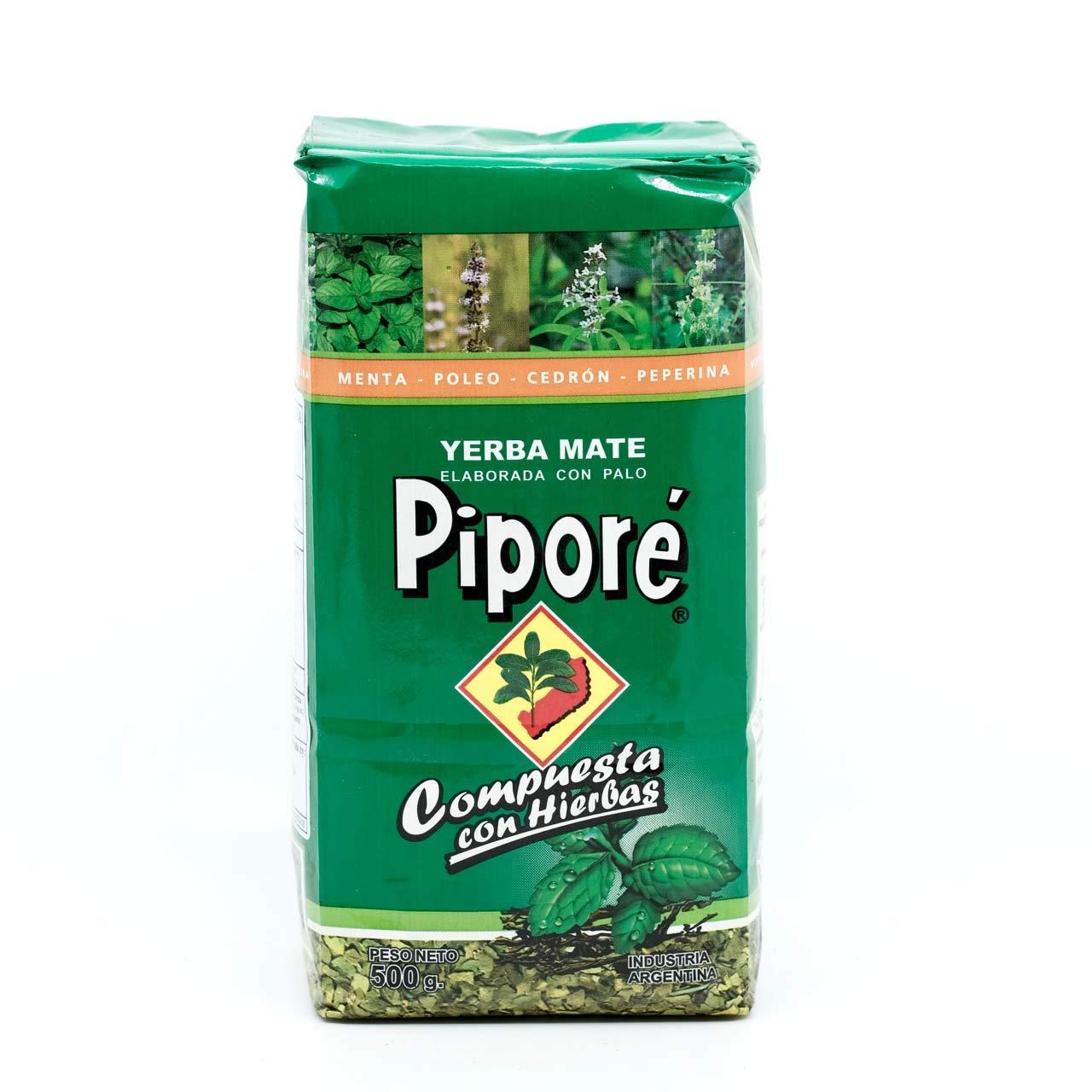 Yerba Mate Pipore Compuesta Mint/Lemon