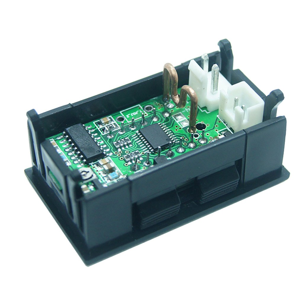 Exing 0,36/5/Digits 0/ /3.0000/a DC amper/ímetro Digital Current Panel Meter Incorporado Shunt