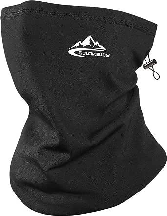 Winter Warm Neck Gaiter Windproof Thermal Fleece Bandanas Neck Warmer Dust Cover