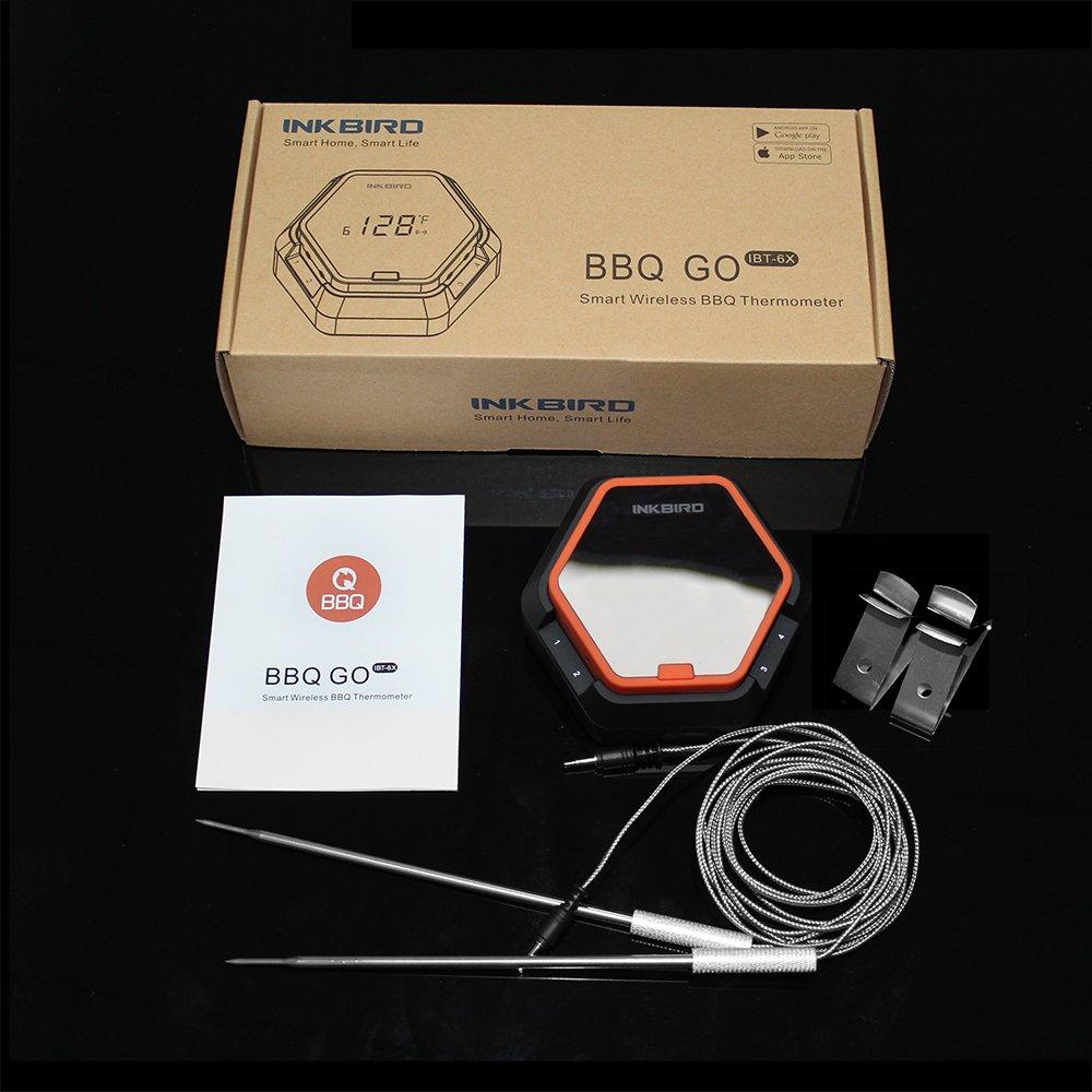 amazon com inkbird digital wireless bluetooth grill smoking bbq