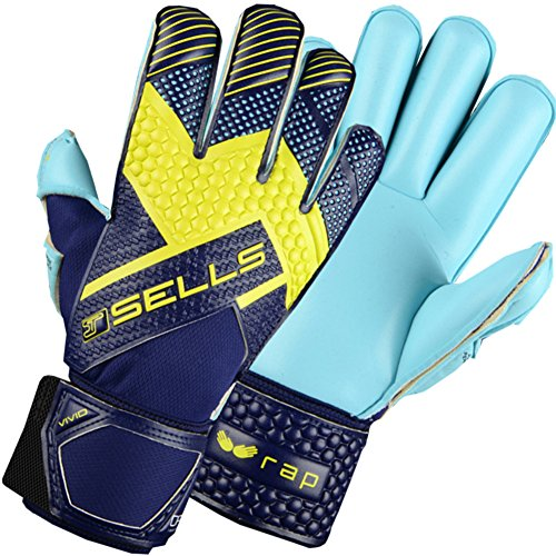 (Sells WRAP Illuminate Junior Goalkeeper Gloves Size 4 Blue)
