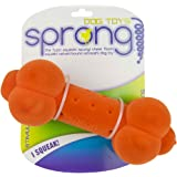 Sprong Dog Chew and Squeak Toys - Bumpy Bone - Assorted Colors