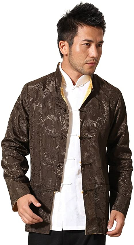 2PCS Mens 100/%Cotton Chinese Kung Fu Tang Suit Shirts Pants Casual Yoga Suits