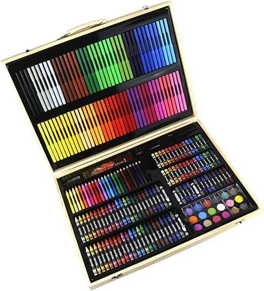 50X Pro Artista Pintura Conjunto de Pinceles Acuarela Acrílico Arte Escuela de Aceite Kit De Arte