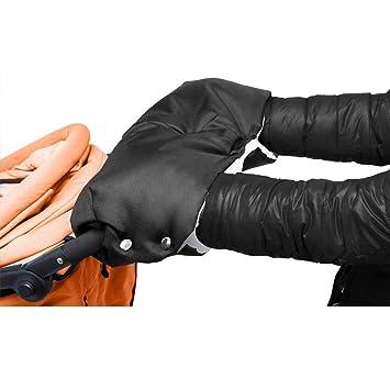 Kinderwagen Handw/ärmer Muff Handschuhe Wasserdicht Winddicht Fleece Gef/üttert Winter Hand Schutz Buggy Blau