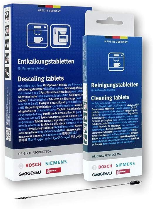 BSH - Juego de limpieza para cafeteras automáticas Bosch y Siemens ...