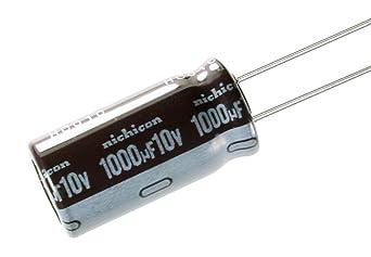 10 PCS Nichicon Elko upm1j101mpd 100uf 63v Low ESR 0,12r 10x20mm rm5 #bp