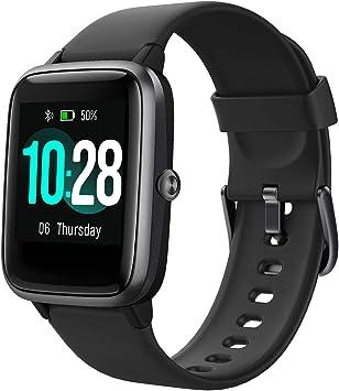 Arbily Fitness Rastreador Smartwatch Pantalla Táctil para Mujeres ...