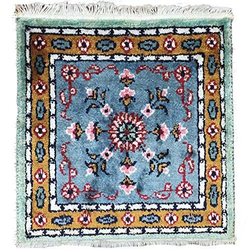 Yilong Carpet 1' x 1' Small Square Handm - Royal Palace Runner Rug Shopping Results