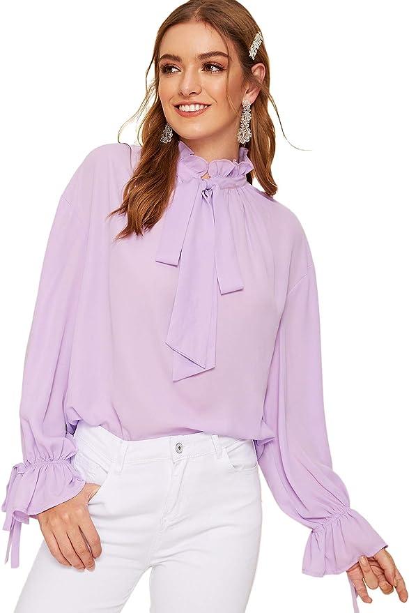 Lantern Sleeve Lace Shirt