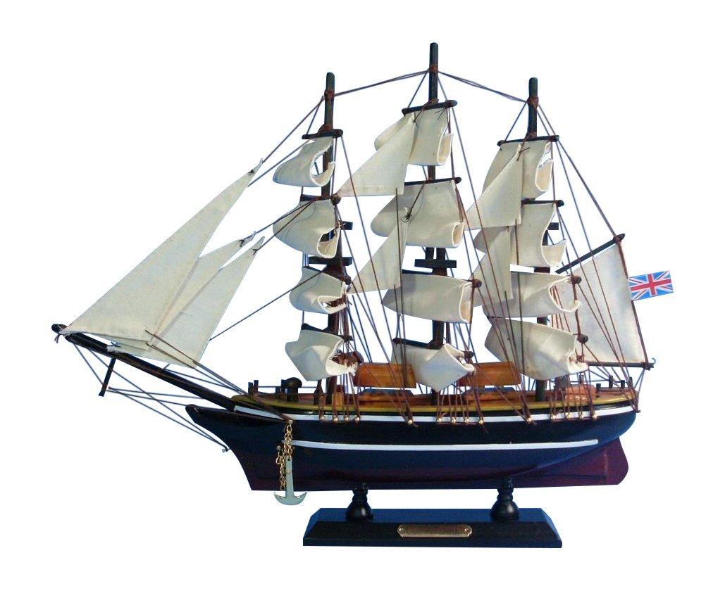 Hampton Nautical  Cutty Sark Tall Ship, 14'' by Hampton Nautical