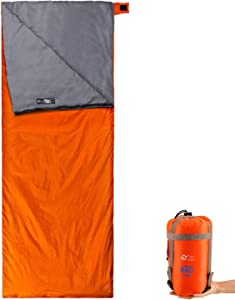 S.Y. Home&Outdoor Sleeping Bag with Stuff Sack Lightweight Waterproof Camping Sleeping Bags for Adults, Kids