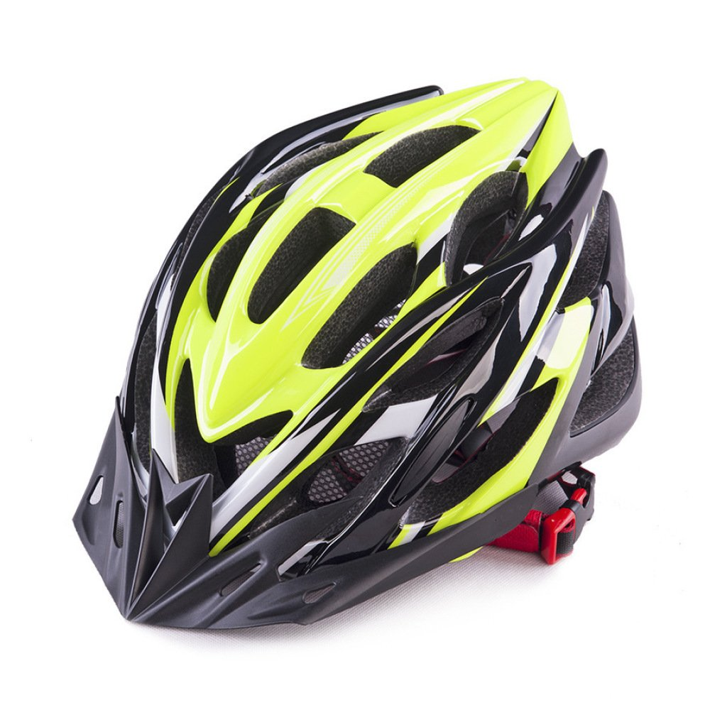 ZJX Casco De Bicicleta Al Aire Libre EPS Luz De Ventilación De Moda Y Cómoda Seguridad Casco De Cuatro Estaciones Neutral Adecuado para La Circunferencia De La Cabeza (56-62CM),D-OneSize
