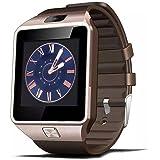 Antech Smart Watch DZ09 SIM フリースマートウォッチ  カメラ搭載ブルートゥース腕時計 通話対応来電通知 sim/TF対応 ボイスレコーダー 着信通知 多機能 時計 健康 android os