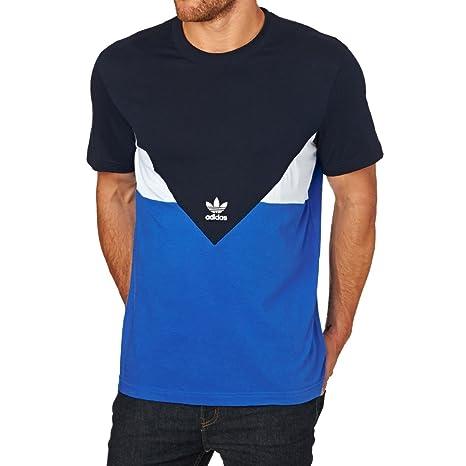 Adidas Hombre Camiseta AY7809 Azul Legend Ink XS