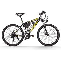 RICH BIT Richbit Vélo électrique 250W Moteur Haute Performance Batterie Lithium-ION Aluminium Cadre de Montagne de vélo Cross Country pour Unisexe