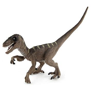 Amazemarket Realista jurásico Dinosaurios Velociraptor Figuras ...