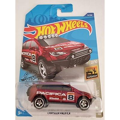 Hot Wheels 2020 Baja Blazers Chrysler Pacifica 51/250, Maroon: Toys & Games