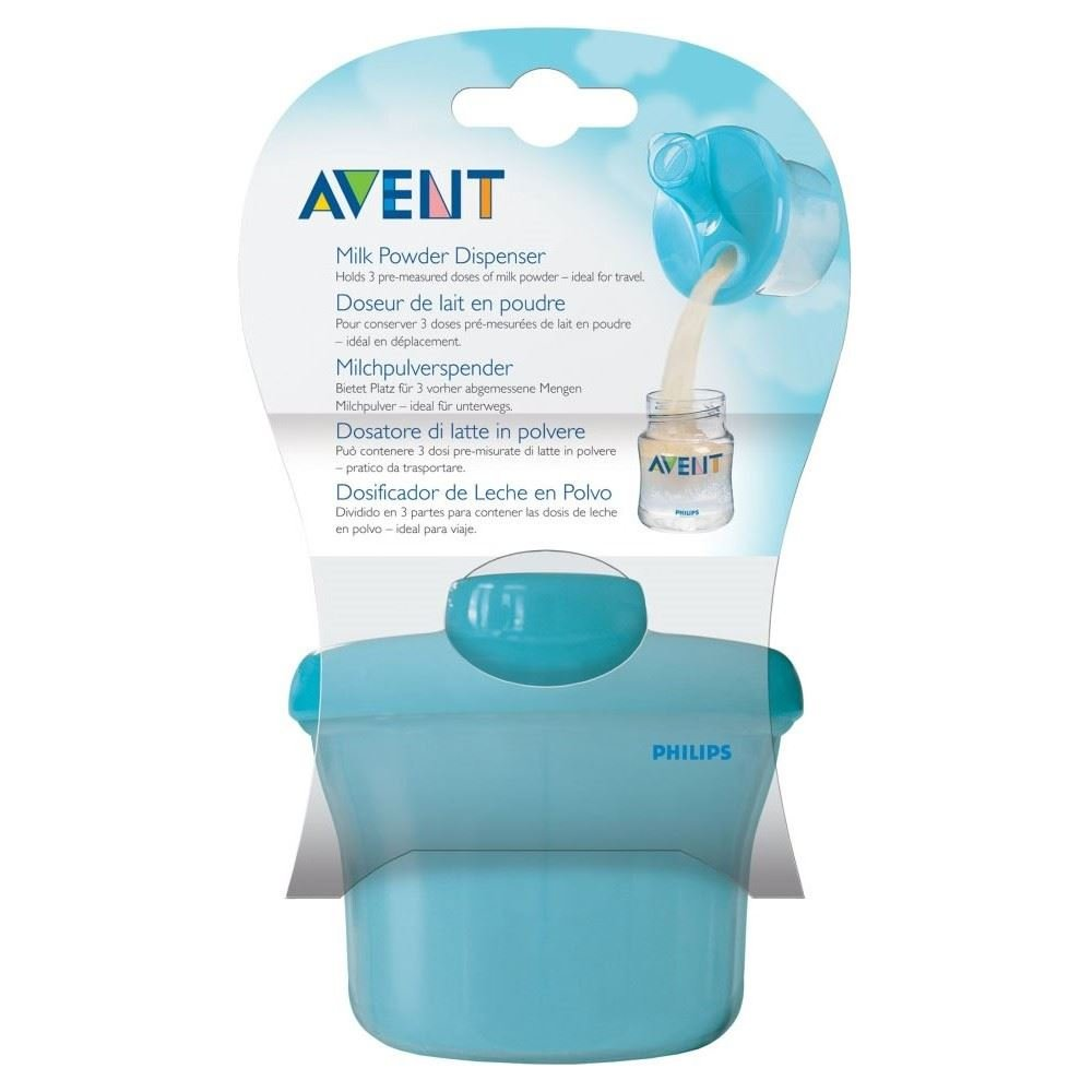 Avent Naturally Milk Powder Dispenser - Pack of 2