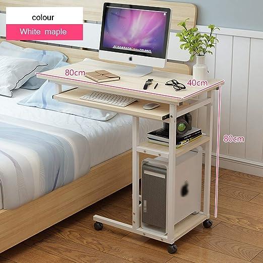 HPLL Mesa de Ordenador Portatil Escritorio para Computadora ...