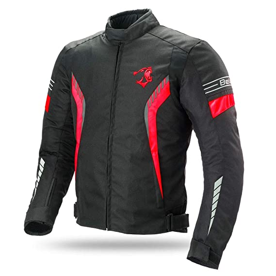 Bela Chaqueta Textil para Motocicleta Bradley CE Aprobado Chaqueta de Moto (M)