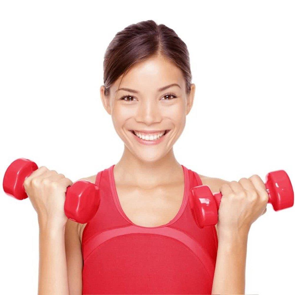 Bakaji Juego 6 mancuernas fitness equipo gimnasio Casa Entrenamiento Pesas brazos bíceps con soporte Puerta Peso tamaño 30 x 27 x 8 cm: Amazon.es: Deportes ...
