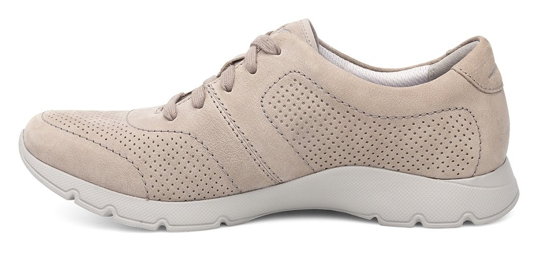 Dansko Alberta Collection Women's Alissa Fashion Sneaker B072WGPPP6 38 M EU|Taupe Nubuck
