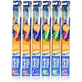 Oral-B Complete Deep Clean 40 Medium Bristles Toothbrush  (Pack of 6 Manual Toothbrushes) (mixed colors)