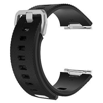 Pueri Correas de Repuestos para Relojes de Actividad para Fitbit Ionic Bandas de Siliconas de Pulseras